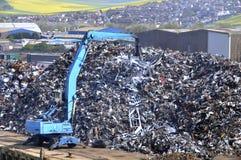 Centre de collecte des déchets Photo libre de droits