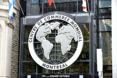 Centre de Commerce Mondial Stock Photos