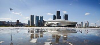 centre de Conférence Internationale de Dalian Photos libres de droits