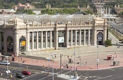 Centre de conférences de Fira De Barcelone Images libres de droits