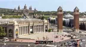Centre de conférences de Fira De Barcelone Image libre de droits