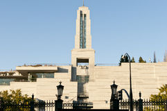 Centre de conférences mormon Photographie stock