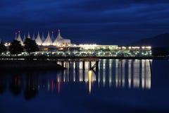 centre de congrès de Vancouver Images libres de droits