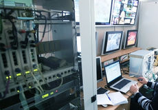 Centre de contrôle Photographie stock