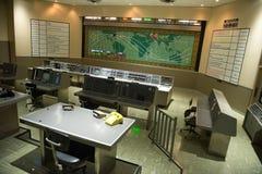 Centre de contrôle de la mission Kennedy Space Center de la NASA Photos libres de droits