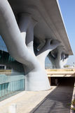 Centre de convention dans Doha, Qatar Photos libres de droits
