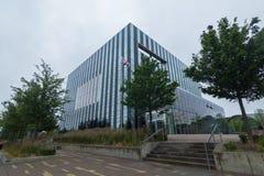 Centre de Corby Town, R-U Photographie stock libre de droits