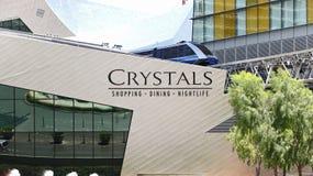 Centre de cristaux Photos libres de droits