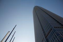Centre de finance internationale de Hong Kong Photos stock