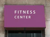 Centre de fitness Photographie stock libre de droits