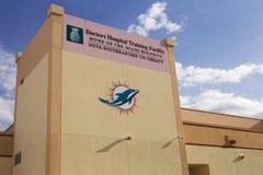 Centre de formation de Miami Dolphins - éditorial seulement Photo stock
