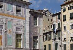 Centre de Gênes - l'Italie Photographie stock libre de droits