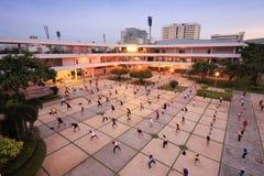 Centre de jeunesse du Thaïlandais-Japon Image libre de droits