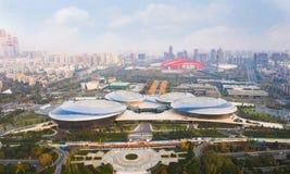 Centre de Jiangsu pour les arts du spectacle images stock
