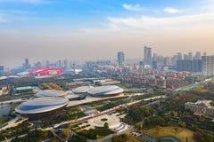 Centre de Jiangsu pour les arts du spectacle photo stock