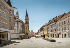 Centre de Kranj, Slovénie image libre de droits