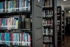 Centre de la connaissance de bibliothèque d'éducation à Bangkok Thaïlande le 22 novembre 2017 Photos stock