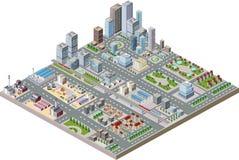Centre de la ville illustration de vecteur