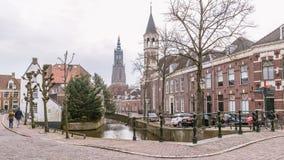Centre de la ville antique d'Amersfoort Pays-Bas Photo libre de droits