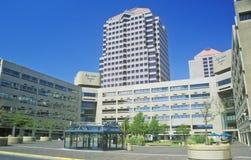 Centre de la ville d'Albuquerque du centre, nanomètre Photographie stock libre de droits