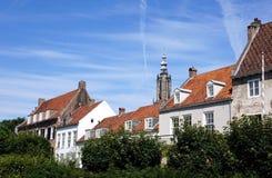 Centre de la ville d'Amersfoort, Pays-Bas Photographie stock libre de droits