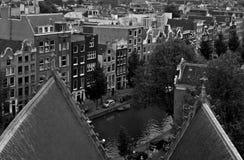 Centre de la ville d'Amsterdam Photographie stock libre de droits