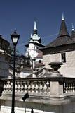 Centre de la ville de Bohème nordique Photographie stock libre de droits