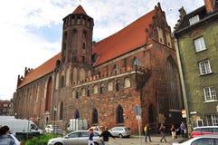 Centre de la ville de Danzig Photos stock