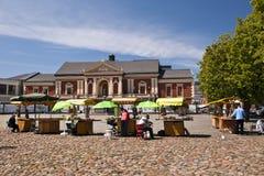 Centre de la ville de Klaipeda Photos libres de droits