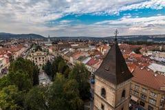Centre de la ville de Kosice Photographie stock