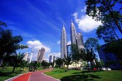 Centre de la ville de Kuala Lumpur Image libre de droits