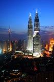 Centre de la ville de Kuala Lumpur Photographie stock libre de droits