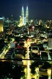 Centre de la ville de Kuala Lumpur Photographie stock