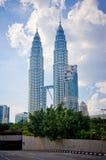 Centre de la ville de Kuala Lumpur photos stock