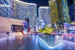 Centre de la ville de Las Vegas Photo stock