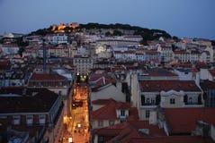 Centre de la ville de Lisbonne Images libres de droits