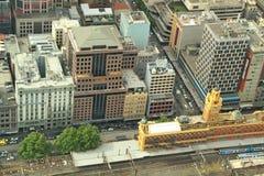 Centre de la ville de Melbourne Photos libres de droits
