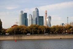 Centre de la ville de Moscou Photos stock