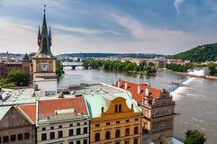 Centre de la ville de Prague Images stock