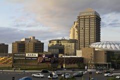 Centre de la ville de Sandton photos stock