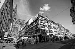 Centre de la ville de Strasborg Image stock