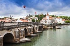 Centre de la ville de Tomar Photo stock