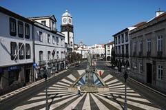 Ponta Delgada Image libre de droits