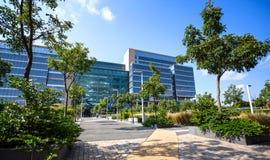 Centre de la ville de Rosebank avec le bâtiment moderne image libre de droits