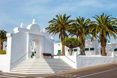 Centre de la ville de Teguise, ancienne capitale de l'île de Lanzarote photographie stock