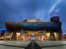 Centre de Lowry, quais de Salford, Manchester photo stock