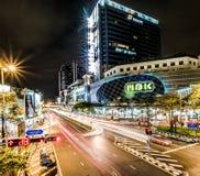 Centre de MBK à Bangkok, Thaïlande Images libres de droits