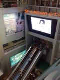 Centre de MBK, centre commercial à Bangkok Photographie stock libre de droits