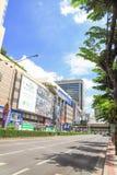Centre de MBK, centre commercial à Bangkok Image libre de droits