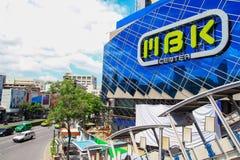 Centre de MBK, centre commercial à Bangkok Images libres de droits
